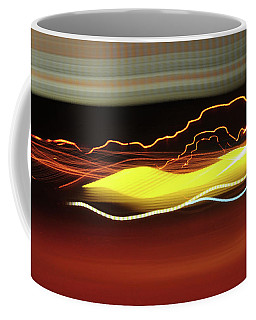 Coffee Mug featuring the photograph Intrusion by Scott Cordell