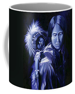 Inuit Mother And Child Coffee Mug