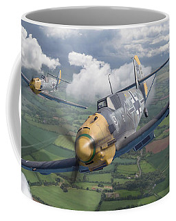 Invaders Across The Channel Coffee Mug