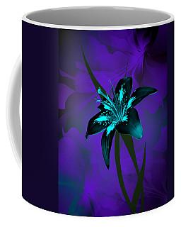 Inverse Lily Coffee Mug