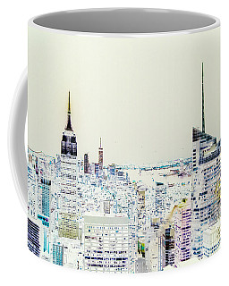 Coffee Mug featuring the photograph Inversion Layer by Alex Lapidus