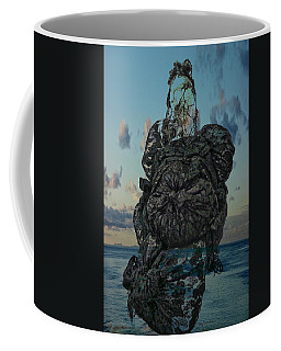 Coffee Mug featuring the photograph Invisable Lady by Joan Reese