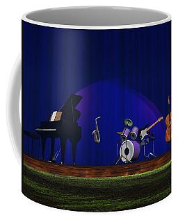 Invisible Jazz Coffee Mug