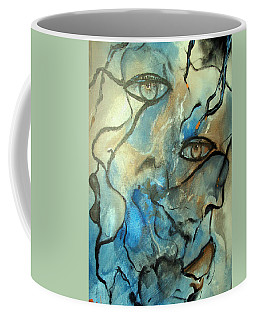 Inward Vision Coffee Mug by Raymond Doward