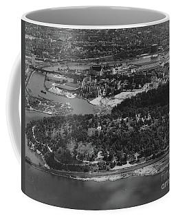 Inwood Hill Park Aerial, 1935 Coffee Mug by Cole Thompson