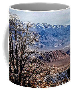 Coffee Mug featuring the photograph Inyo Mountains - Owens Valley by Glenn McCarthy Art and Photography
