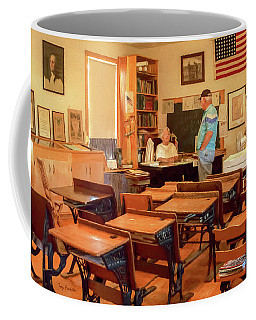 Iola Historic Schoolhouse Coffee Mug