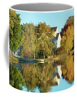 Iola Mill Fall View Coffee Mug