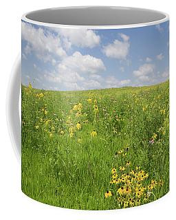 Iowa Summer Flowers I Coffee Mug
