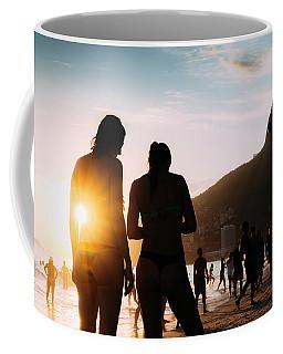Ipanema, Rio De Janeiro, Brazil At Sunset Coffee Mug