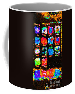 Iphone In Abstract Coffee Mug