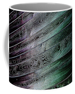Coffee Mug featuring the digital art Iridescence by Wendy Wilton