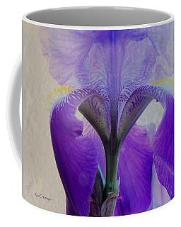 Iris And Ice Coffee Mug