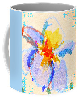 Iris Bloom Coffee Mug