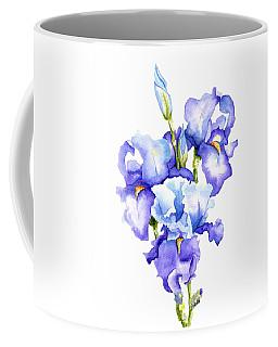 Iris Blooms Coffee Mug