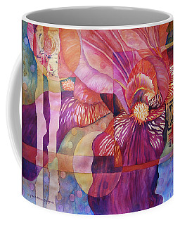 Iris Delight Coffee Mug by Lynda Hoffman-Snodgrass