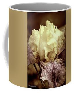 Iris In Decay Coffee Mug by Bonnie Willis