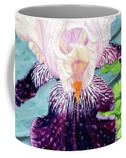 Iris In The Spring Rain Coffee Mug