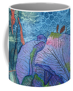 Iris Lace With Wild Columbine Coffee Mug