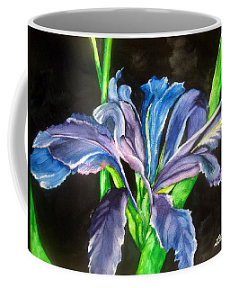 Iris Coffee Mug by Lil Taylor