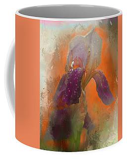 Coffee Mug featuring the digital art Iris Resubmit by Jeff Burgess