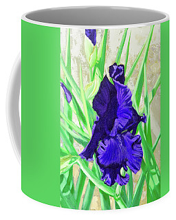 Iris Royalty Coffee Mug