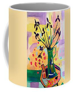 Iris Spring Coffee Mug
