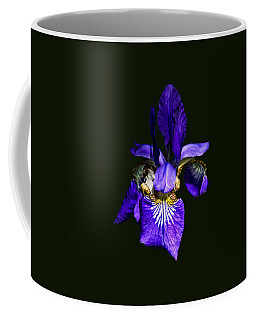 Coffee Mug featuring the photograph Iris Versicolor by Mark Myhaver