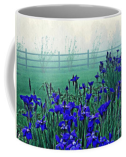Irises At Dawn 3 Coffee Mug