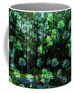 Irises Falling From A Southern Sky  Coffee Mug