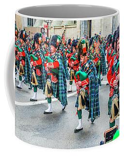 St. Patrick Day Parade In New York Coffee Mug