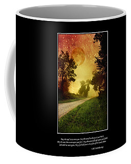 Irish Blessing Poster Art Coffee Mug