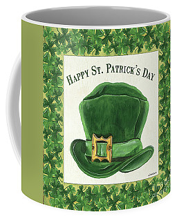 Coffee Mug featuring the painting Irish Cap by Debbie DeWitt