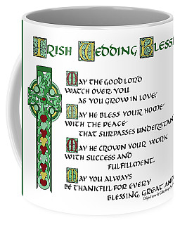 Irish Celtic Wedding Blessing Coffee Mug