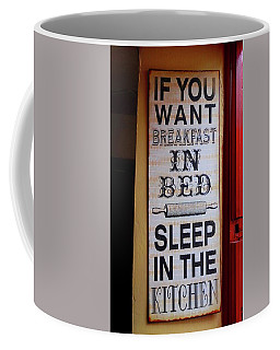 Coffee Mug featuring the photograph Irish Pub Sign by Melinda Saminski