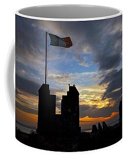 Irish Sunset Over Ramparts 2 Coffee Mug