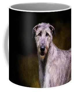 Irish Wolfhound Portrait Coffee Mug