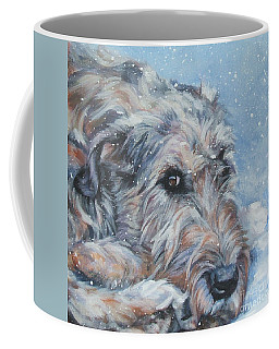 Irish Wolfhound Resting Coffee Mug