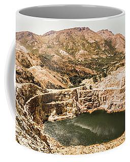 Iron Blow Lookout, West Coast Tasmania Coffee Mug