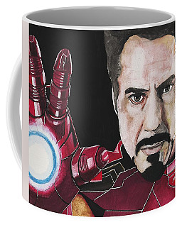 Iron Man Coffee Mug by Edwin Alverio