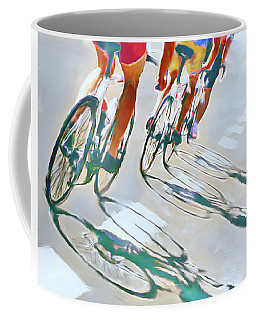 Iron Man Triathlon Coffee Mug