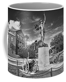 Iron Mke Statue - Parris Island Coffee Mug