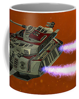 Ironstar In Space Coffee Mug