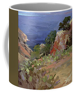 Ironwoods At Goat Harbor Coffee Mug