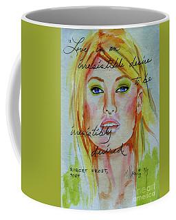 Irresistible Coffee Mug by P J Lewis