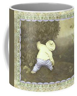 Is Bunny In Bushes? Coffee Mug