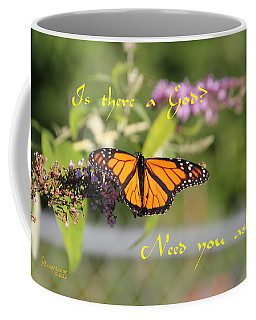 Coffee Mug featuring the photograph Is There A God by Ericamaxine Price