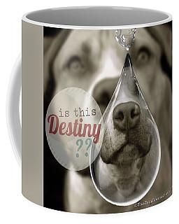Coffee Mug featuring the digital art Is This Destiny by Kathy Tarochione