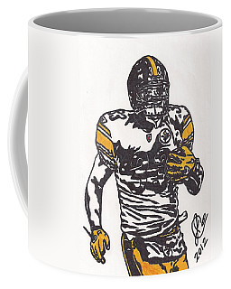 Coffee Mug featuring the drawing Isaac Redman by Jeremiah Colley
