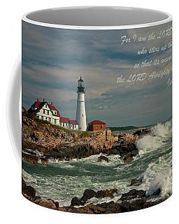 Isaiah 51-15 Coffee Mug